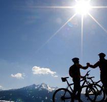 Mountenbike-fahren